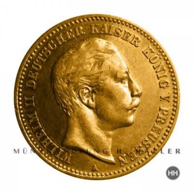 10 Reichsmark Gold Preussen J.251 / 1893 A ss./vz.