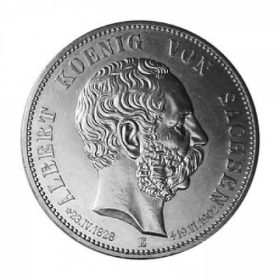 5 Reichsmark Sachsen J.128 / 1902 ss./vz.