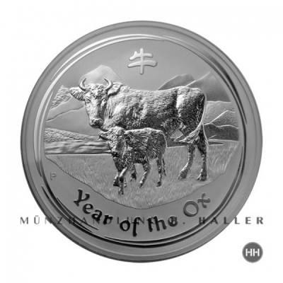1 Oz. Australien Lunar Ochse II 2009