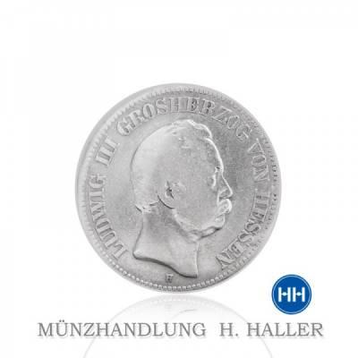 2 Reichsmark Hessen J.66 1876 s.+