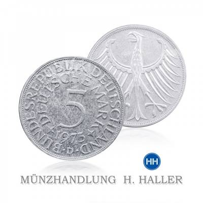 5 DM J.387 1974 D = München vorzüglich/stempelglanz