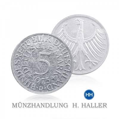 5 DM J.387 1970 J = Hamburg vorzüglich