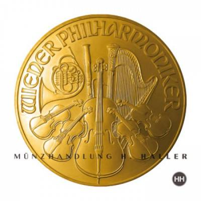 1 Oz. Gold Österreich Wiener Philharmoniker Sonderaktion !!