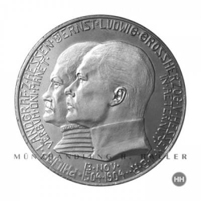 2 Reichsmark Hessen J.74 1904 ss./vz.