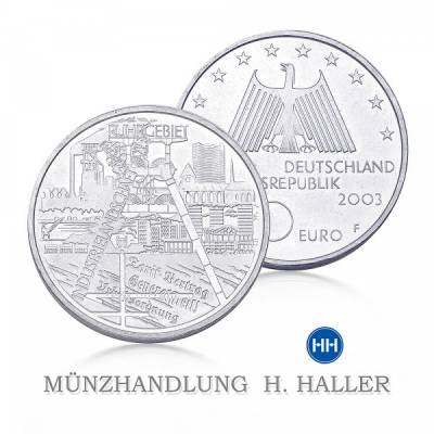 10 Euro BRD Ruhrgebiet 2003 stgl.