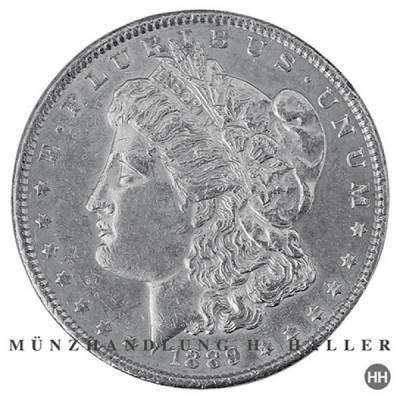 Morgan Dollar 1921 D vorzüglich