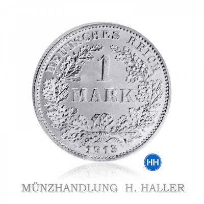 J.17 1 Mark 1908 G sehr schön