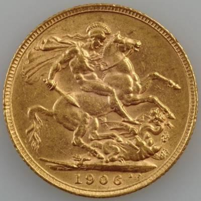1 Pfund England Sovereign