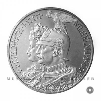 2 Reichsmark Preussen J.105 / 1901 stempelfrisch