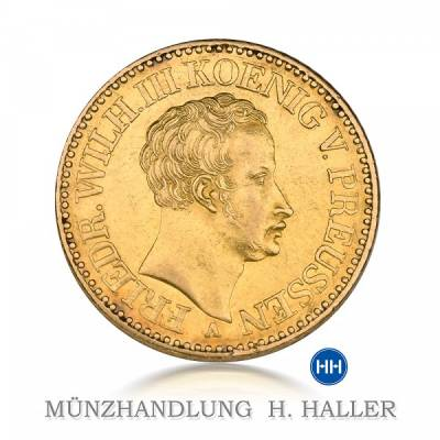 Doppelter Friedr. D`Or. Friedrich. Wilh. III. 1839 vz.+ KM#416