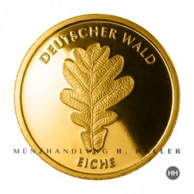 20 Euro 2010 Deutscher Wald Motiv Eiche Gold Serie G