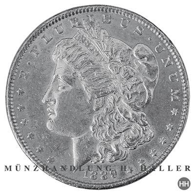 Morgan Dollar 1898 sehr schön/vorzüglich