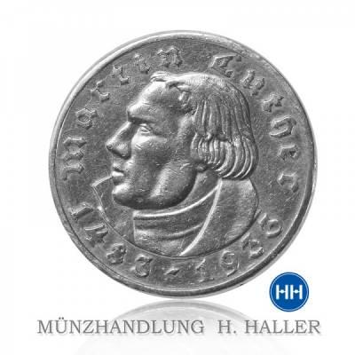 2 RM Luther J. 352 1933G ss./vz. min. Randfehler