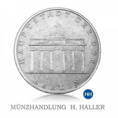 5 Mark DDR Brandenburger Tor 1971 A vz./stgl.