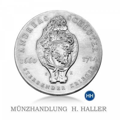 20 Mark DDR 275. Todestag v. Andreas Schlüter 1990 stempelfrisch