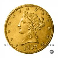 10 $ USA Gold Liberty 1886