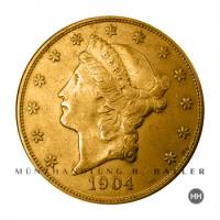 20 $ USA Gold Liberty ( Double Eagle ) 1904